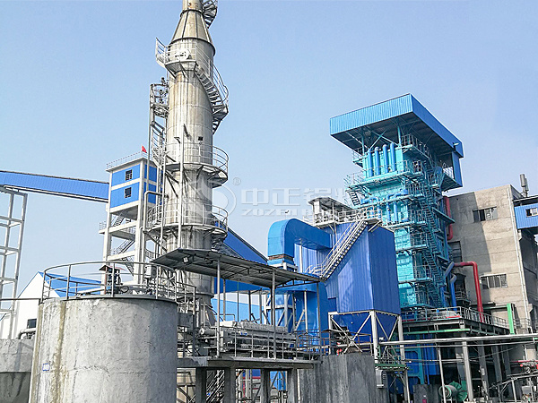 ZOZEN SHX series circulating fluidized bed steam boiler for Ganfeng Lithium