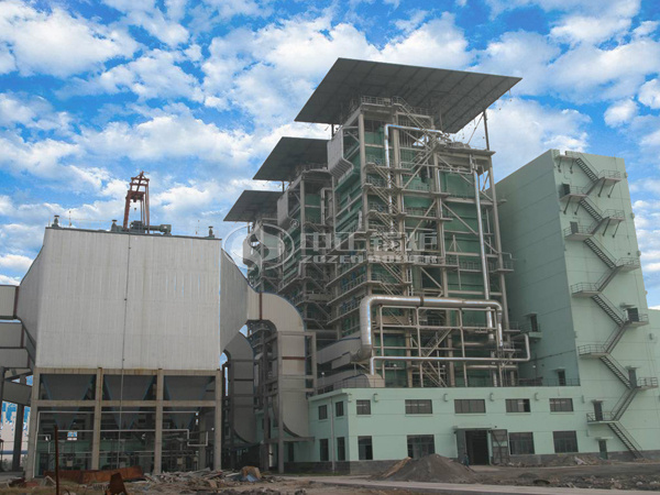 ZOZEN circulating fluidized bed boiler for Heilongjiang Kangtai Industrial Park