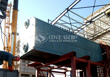 25 tph SZL series chain grate bio steam boiler for bioenergy corporation