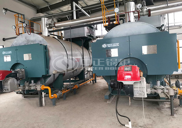 4.2MW WNS series hot water boiler for Shanghai Jinshan Youth Practice Base