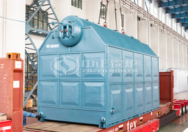 Shipment of 6tph SZL series steam boiler to Philippines