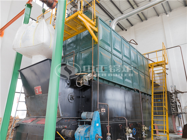 ZOZEN SZL series biomass-fired steam boiler for Hongya Wood
