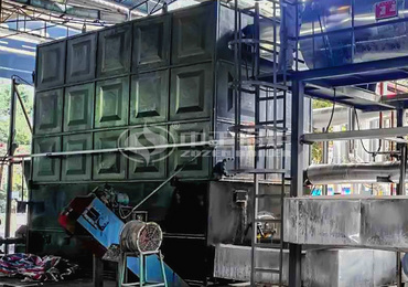 4200KW YLW series chain grate thermal fluid heater for manganese mining