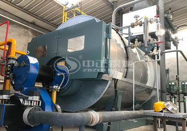 2 tph WNS series gas-fired steam boiler for the auto parts industry