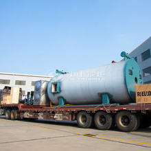 4.2MW YQW series gas-fired horizontal thermal fluid heater project in Kazakhstan