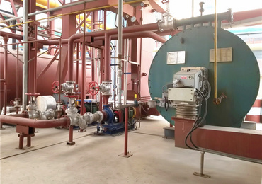 2.1MW YQW series gas-fired thermal fluid heater project for the rubber chemical industry