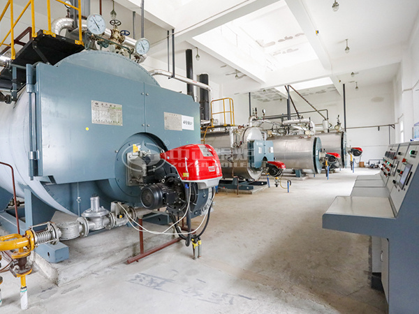 ZOZEN gas-fired boilers for Sanyi Food