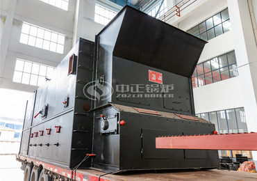 10 tph SZL series biomass-fired steam boiler project for Inner Mongolia Jinshan Mining
