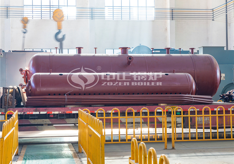 20 tph SHX series circulating fluidized bed steam boiler for silicon chemical industry