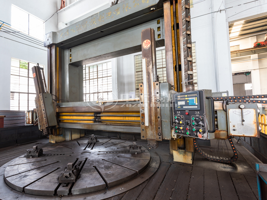ZOZEN large-scale vertical lathe is suitable for parts with high accuracy and complex shapes