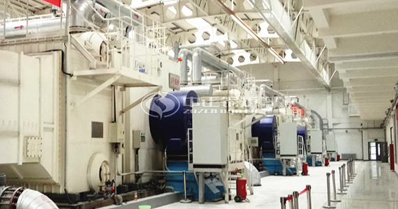 ZOZEN provides stable and high-efficient boiler equipment for China Railway System