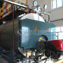 2.8MW WNS series hot water boiler Coal-to-Gas project for Tulufanbei Railway Station