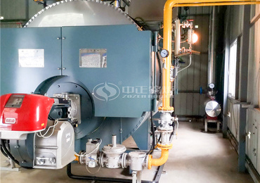 4tph WNS series three-pass natural gas low NOx steam boiler project for electronic information industry