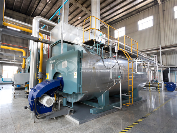 Hot-sale ZOZEN product, WNS series condensing gas-fired steam boiler