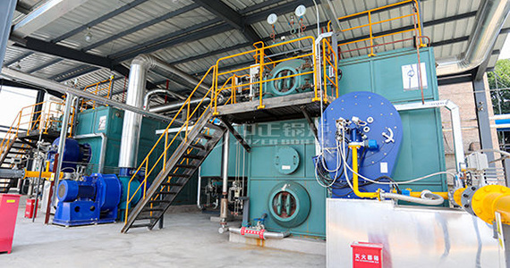 The clean operation environment of ZOZEN gas-fired boilers changes the dirty image of the boiler operator