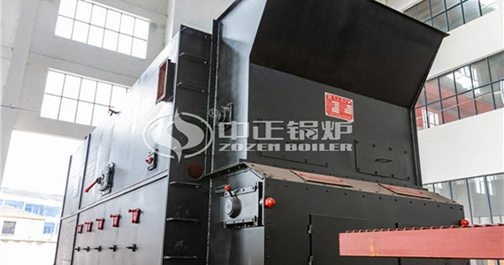 Environment-friendly ZOZEN SZL series biomass-fired boiler assists the cleaner production of Jinshan Mining