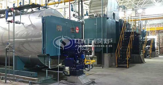 ZOZEN low NOx gas-fired boilers assist  Yushuwan Coal Mine to realize clean heating