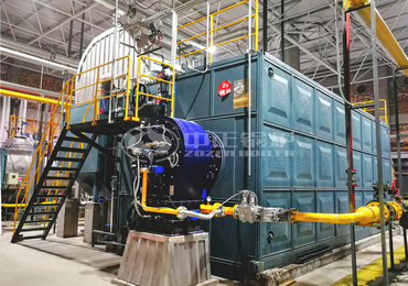 SZS series and WNS series low NOx environment-friendly gas-fired steam boilers for coal mining industry