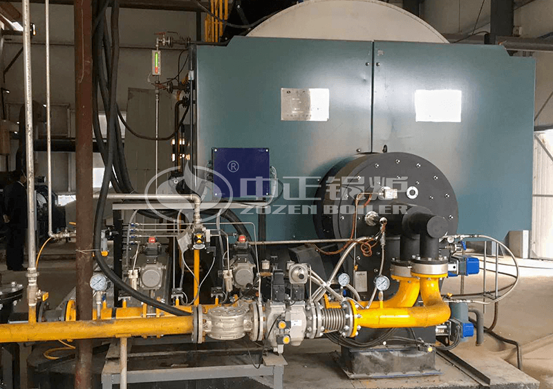 5tph WNS series three pass gas-fired steam boiler project for biodiesel industry