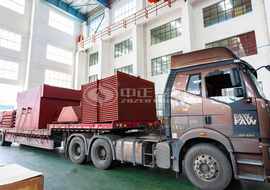 25tph SHX series circulating fluidized bed steam boiler project for chemical industry