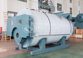 WNS series gas-fired or oil-fired hot water boiler