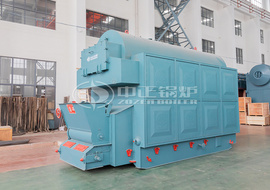 DZL series coal-fired or biomass-fired hot water boiler