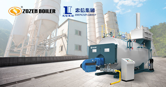 ZOZEN high-efficiency gas-fired boiler provides strong support for the improvement of the building materials industry