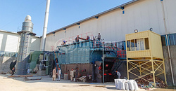 ZOZEN steam boiler project in Afghanistan officially comes into service after the high-quality boiler installation