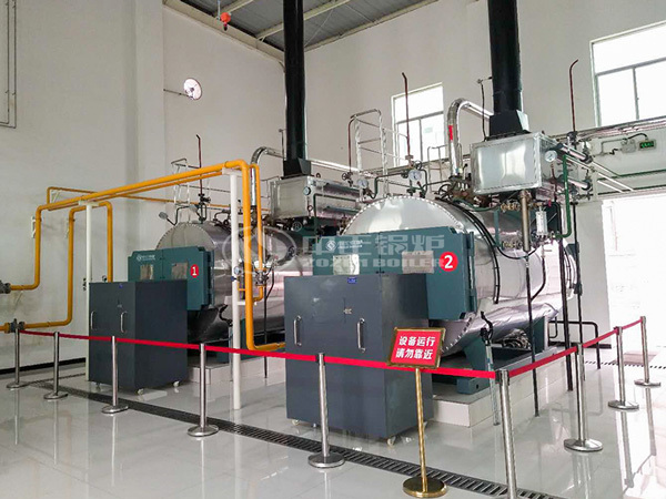 ZOZEN gas-fired boilers are operating at Shiyang Group in Shaanxi Province