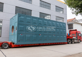 The shipment of ZOZEN 46MW gas-fired hot water boiler for Luanchuan County Thermal Power
