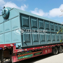 20 tph eco-friendly SZL series chain grate water tube steam boiler project for the food industry