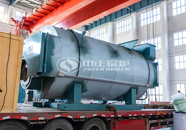 6 tph high-efficiency and eco-friendly WNS series three-pass gas-fired steam boiler project for the building materials industry