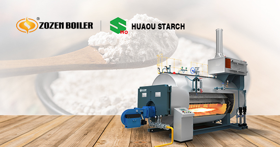 ZOZEN steam boiler is successfully applied in Huaou Starch project to promote the clean development of starch industry