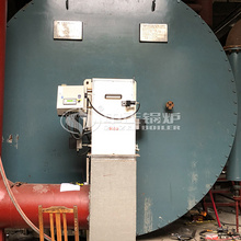 10 million kcal YQW series gas-fired horizontal thermal oil heater project for the textile, printing and dyeing industry
