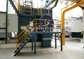 3 sets of 29 MW gas-fired hot water boilers serving for Jin-an Thermal Power in Tianjin