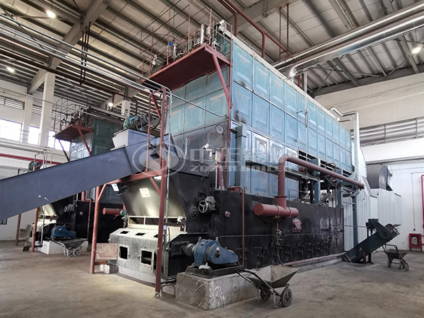 ZOZEN biomass boiler applied in the Thailand rubber industry