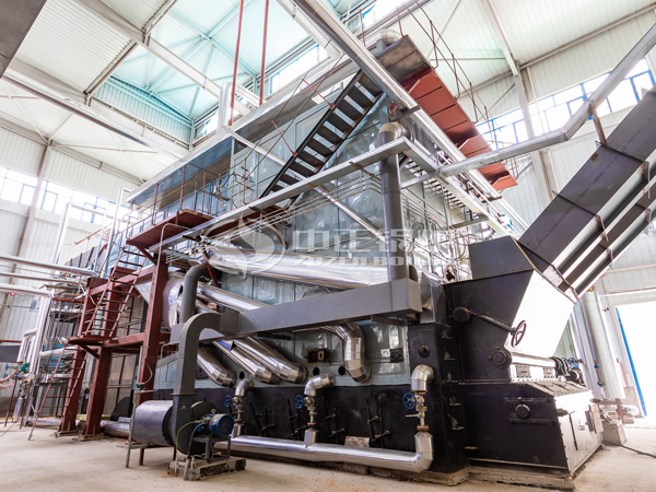 ZOZEN biomass boiler in the comprehensive utilization demonstration project