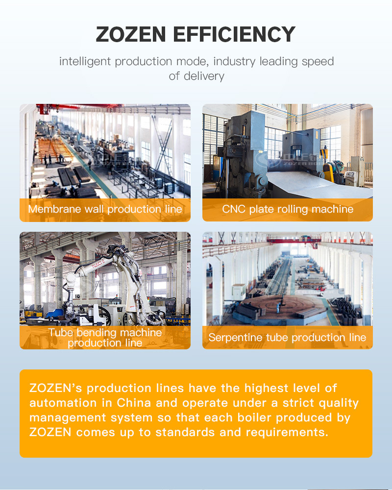 The advantage of CFB (circulating fluidized bed) coal-fired steam boiler