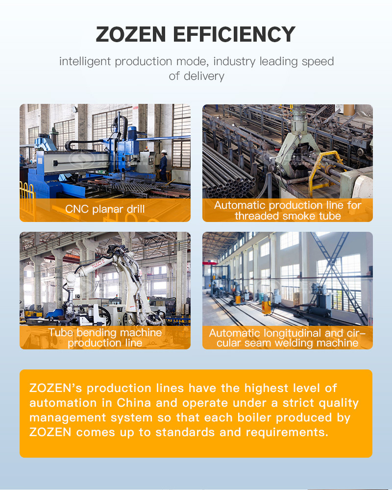 The advantage of DZL series coal-fired steam boiler