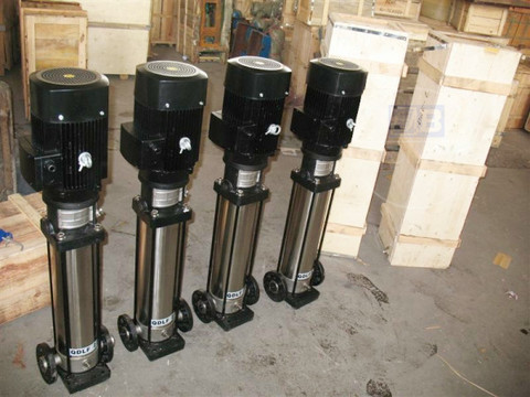 Vertical Stainless Steel Multistage Pump