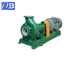 Fluoroplastic Chemical Pump
