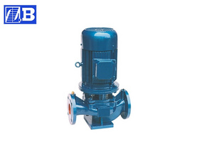 Vertical Inline Hot Water Pump
