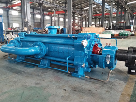 New model of multistage pump delivered to Uzbekistan