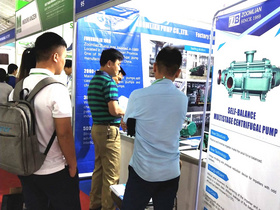 Zoomlian Pump in 2019 Vietnam International Industry Fair