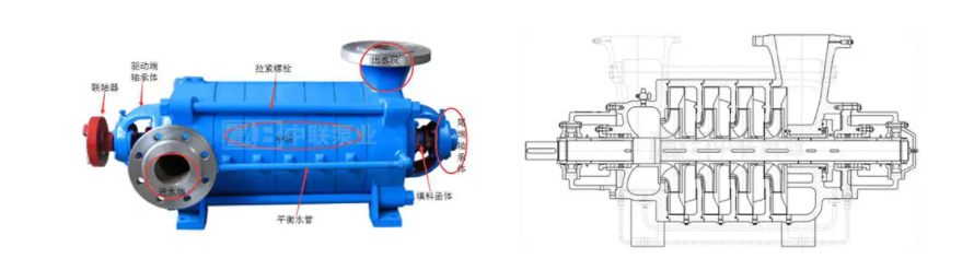 photo of d type multistage pump