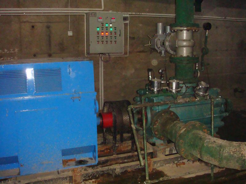 湖南黃沙坪鉛鋅礦D型臥式多級泵