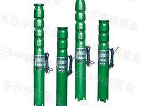 QJ型深井潜水多级泵