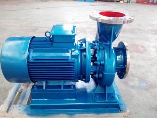 IHW型卧式不锈钢管道离心泵