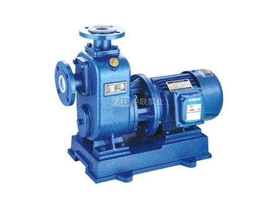 ZW型无堵塞污水排污式自吸泵