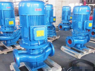 GW型立式无堵塞管道式污水排污泵